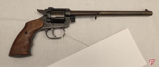 """.22LR DOUBLE ACTION REVOLVER, 8.5"""" BARREL, FIXED SIGHTS, SN 11213"""