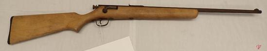"STEVENS 15-B .22S/L/LR BOLT ACTION SINGLE SHOT RIFLE, 24"" BARREL"
