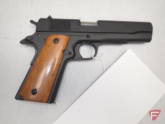 ROCK ISLAND ARMORY M1911 A1-FS .45 AUTO SEMI-AUTOMATIC PISTOL