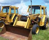 Ford 445a Industrial Tractor Loader W / 3pt