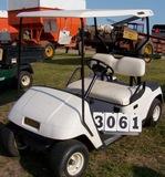 98 Txt Gas Golf Car W/top White Sn#1110943