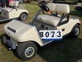 02 Club Car Electric Golf Car, Biege