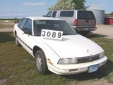 1992 Buick Regal 4 Dr Whiite