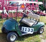 02 Ezgo Gas Golf Car L402 Green