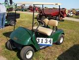 02 Ezgo Gas Golf Car L402 Green Sn#1554756