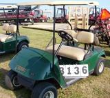 02 Ezgo Gas Golf Car Green M102