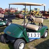 02 Ezgo Gas Golf Car Green L402