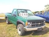 97 Chev K2500 Pickup 4x4, At, 5.7 V8,