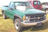 97 Chev K2500 Pickup 4x4, At, 5.7 V8