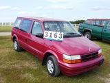 95 Dodge Grand Caravan Red, V6 3.0