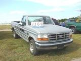 92 Ford F150 Gray, 4.9l 4x4, 63k,