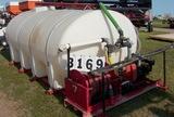 97 Hydro Turf 1500 Gal Tank Sprayer