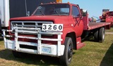 82 Gmc 2 Ton Lift Bed (hyd Lift) Red