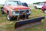 72 Chev Plow Truck W/ Plow And Hoist