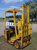 Clark Tw25 Tw25-393-2067 Elec Forklift