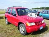 99 Kia Sportage 4wd Sedan Red