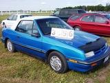 1992 Dodge Shadow Convertable 2dr