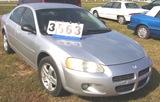 2001 Dodge Stratus 4dr Automatic Silver Power Locks