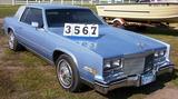 1984 Cadilac Eldrado 2 Dr Car Light Blue
