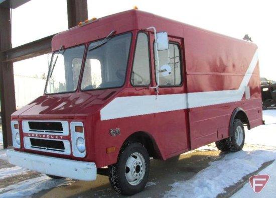 1977 Chevrolet C30 Step Van 30, 10,000 pound GVWR, 12,753