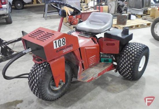 1994 toro sand pro 3000 with blade, model 08883, sn: 40438, hours 5509 9  showing  manual in bin c204