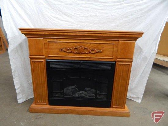 lot twin star electric fireplace model 33e05 approx 43 hx53 wx16 d proxibid  auctions