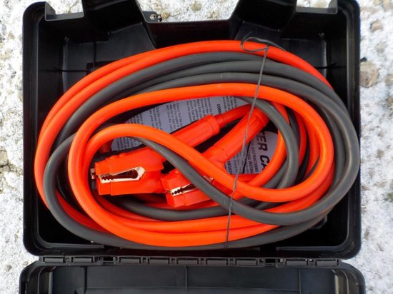 1 Gauge 25' Heavy Duty Booster Cable Serial: 5478-22