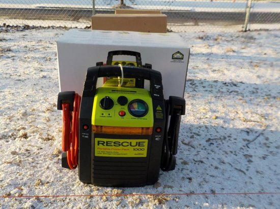 Rescue 1000 Professional Jump Start System Serial: 5478-59