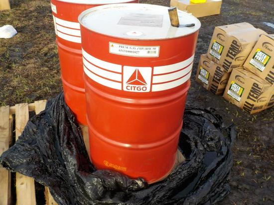 Chevron 55 Gallon Equipment Lubricant