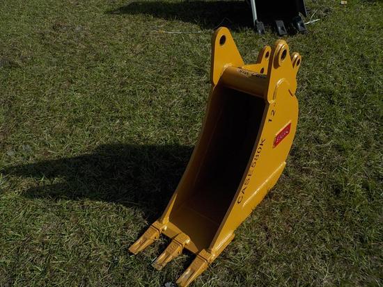 "Teran  Bucket to suit Case 580K 12"" (0.09 M³) - 3HD Tips"