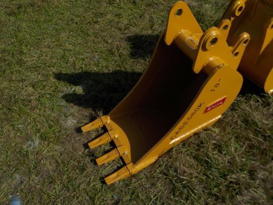"Teran  Bucket to suit  Case 580K 18"" (0.14 M³) - 4HD Tips"