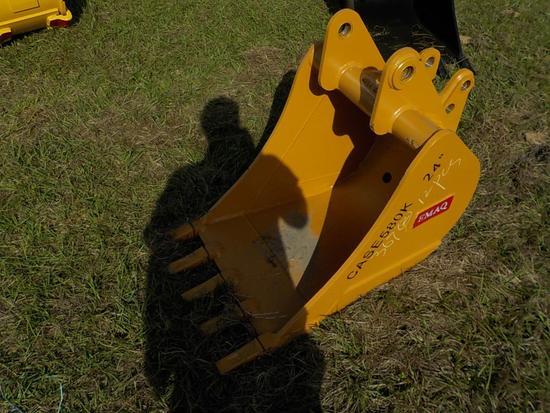 "Teran  Bucket to suit Case 580K 24"" (0.21 M³) - 5HD Tips"