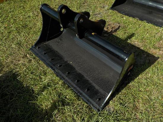 "Teran  Mud Bucket to suit Deere JD310J/K 48"" (0.23 M³) c/w Bolt on Cutting"