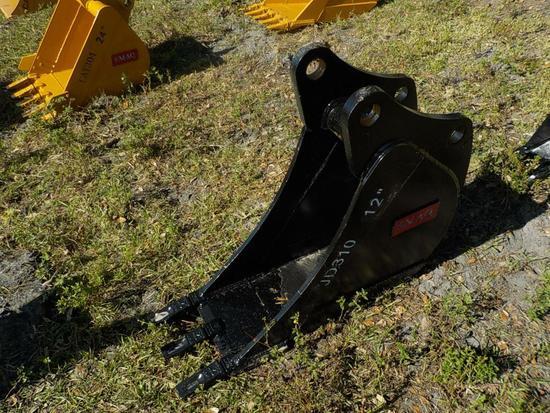"Teran  Bucket to suit John Deere JD 310G 12"" (0.09 M³) - 3HD Tips"