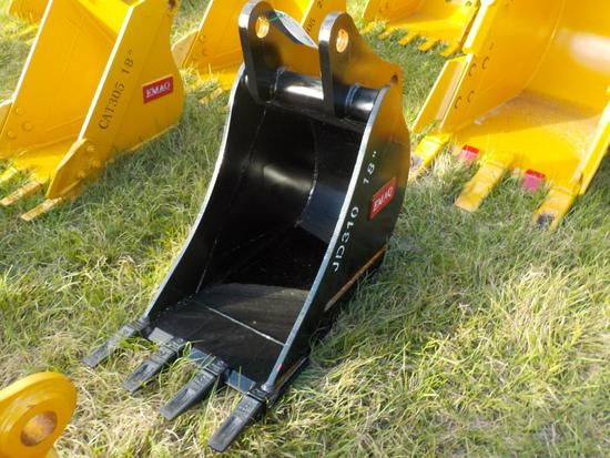 "Teran  Bucket to suit John Deere JD310G 18"" (0.14 M³) - 4HD Tips"