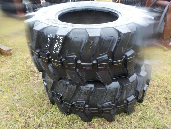 19.5L-24 Tires to suit Backhoe Loader (2 of)