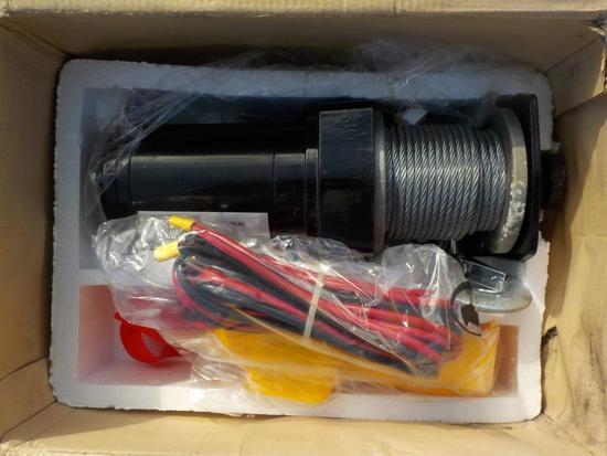 OG2000 2000lb Electric Pull Line Winch c/w Controls