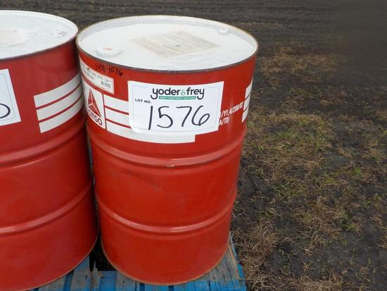 Chevron 55 Gallon Equipment Lubricant