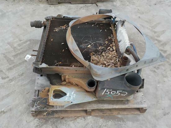 Misc. Radiator c/w Fan Shroud