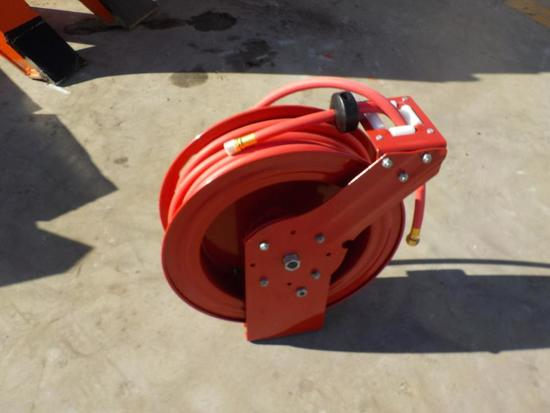 50' Air Hose Reel c/w Hose