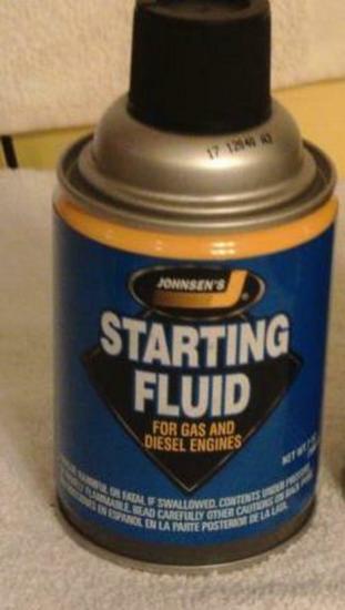 Starting Fluid (12 Per Case) (2 of)