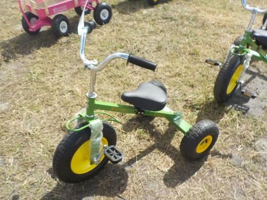 Western Express Green Tricycle (2 of)