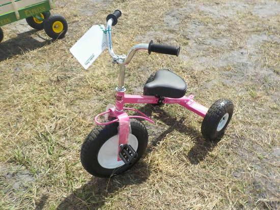 Western Express Pink Tricycle (2 of)