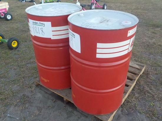 Chevron 55 Gallon Equpiment Lubricant