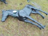 Medium Size Aluminum Horse