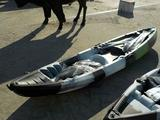 Transparent Kayak 2 Seater c/w Paddle and Seats
