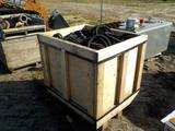 Crate of Assorted Hydraulic Hose