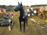 Life Size Aluminum Horse