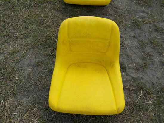 Yellow Tractor Seat (4 of)