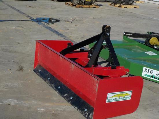 6' Crocodile Heavy Duty Box Blade